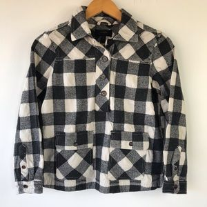 J. Crew Pullover Shirt-Jacket in Buffalo Check